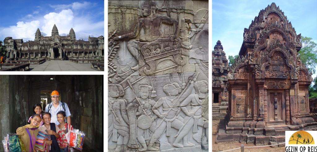 Angkor met kinderen