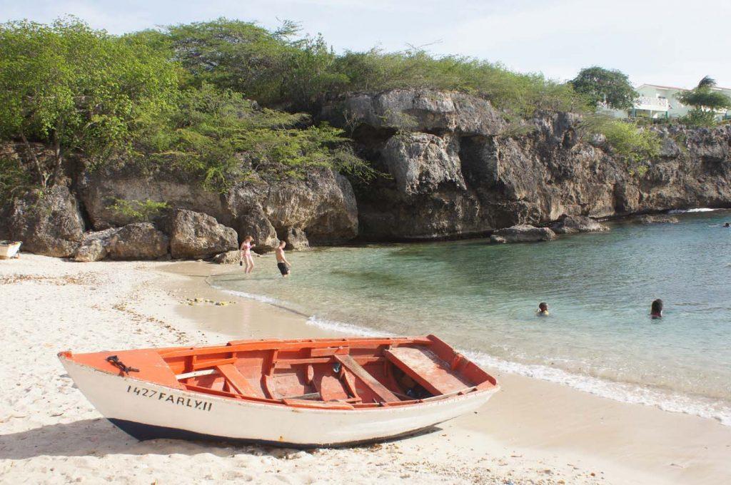 Curacao lagun strand