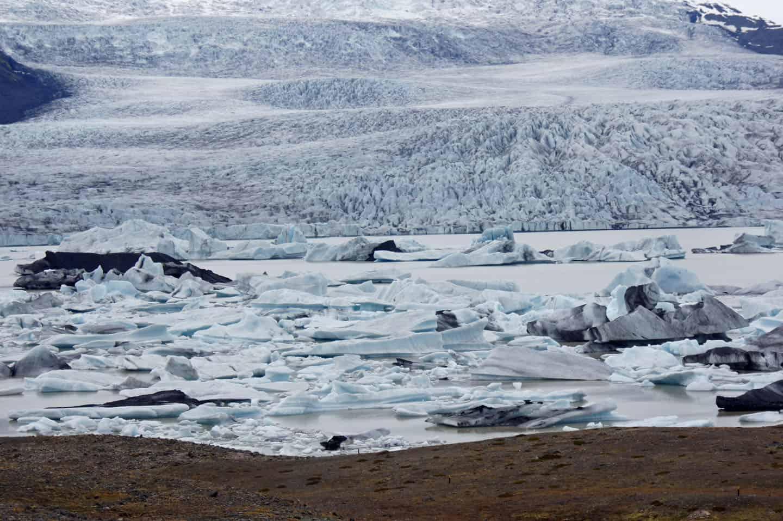 Fjallsárlón ijsmeer ijsland