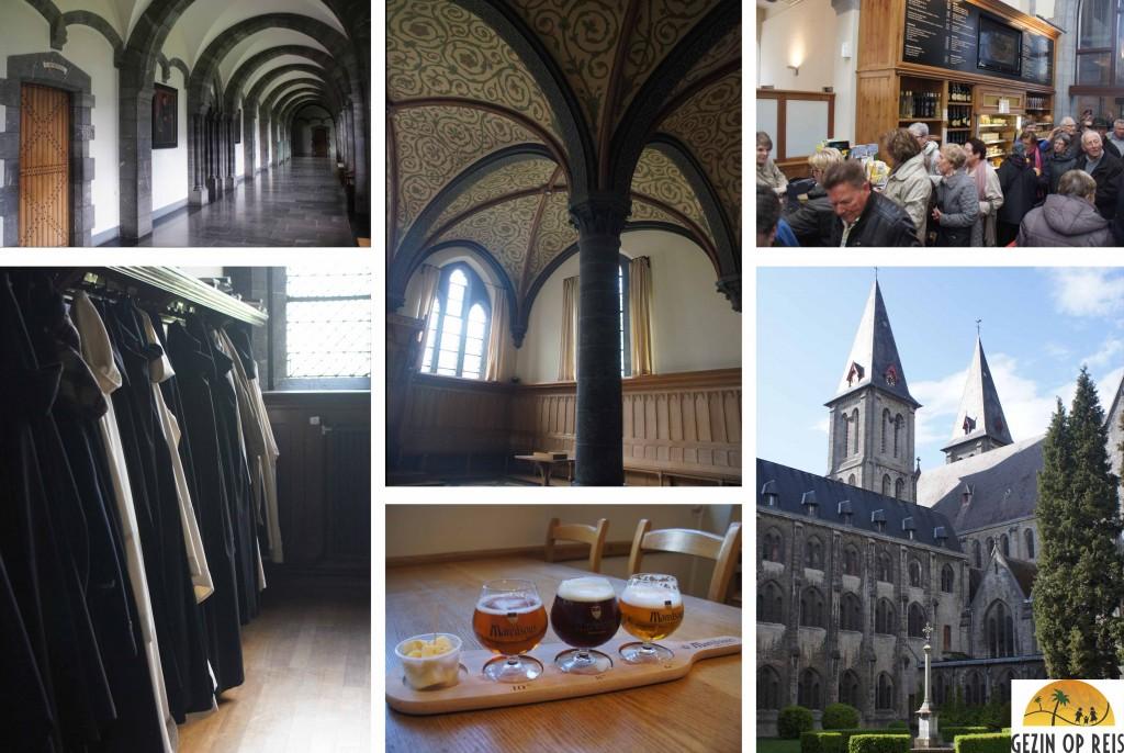 De abdij van Maredsous
