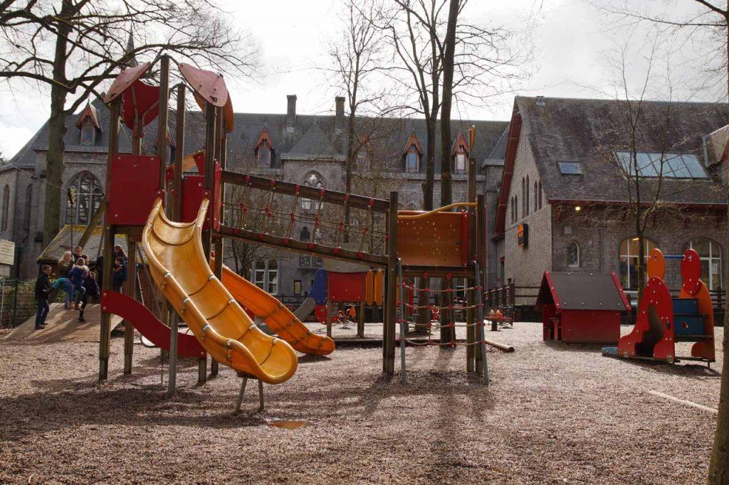 Maredsous abdij speeltuin