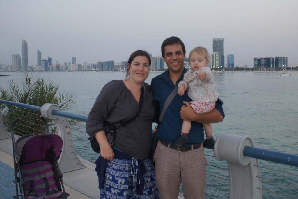 Abu Dhabi met kinderen