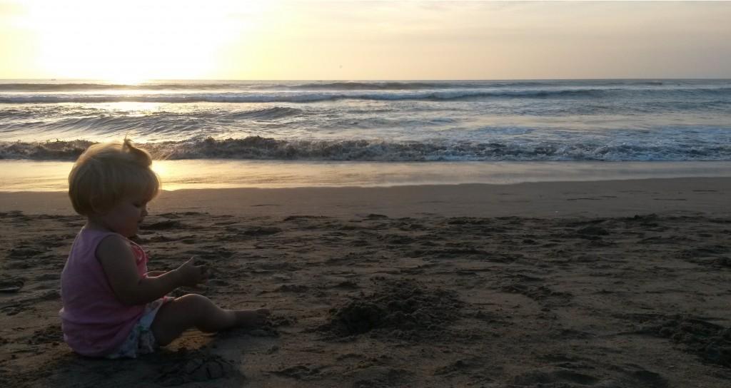 Het strand van Bali, een kinderparadijs!