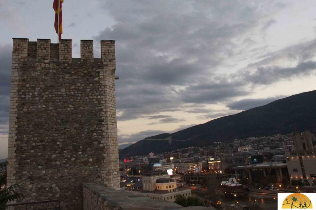 Skopje fort