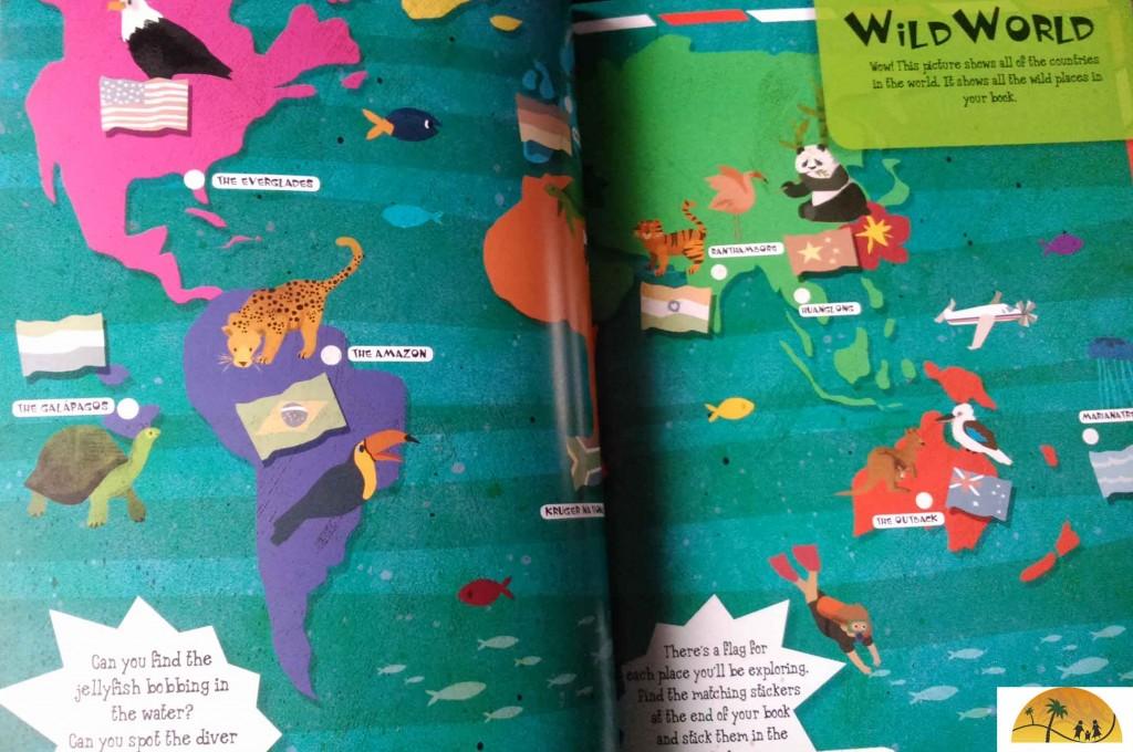 Lonely Planet Kids Adventures boek