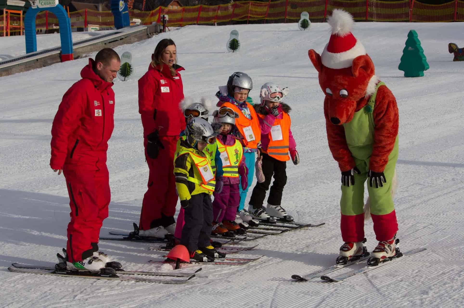 wintersportgebieden met kinderen
