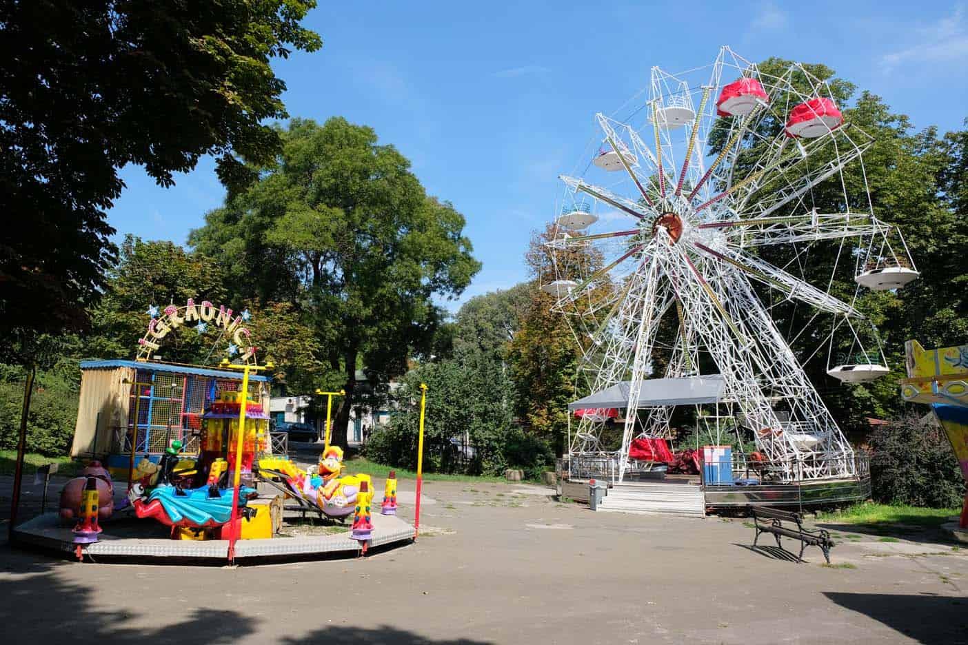 belgrado pretpark met kids