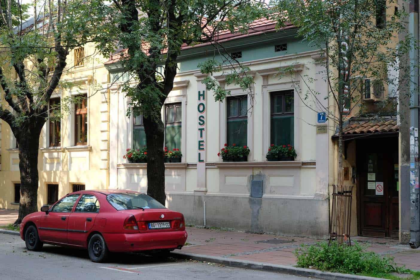 belgrado hostel