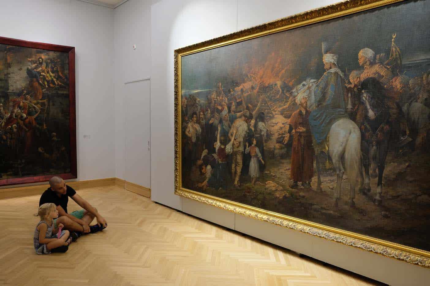National Museum Belgrado