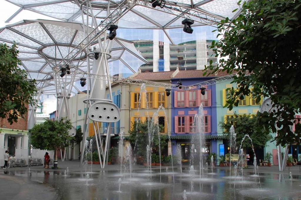 Singapore met kinderen