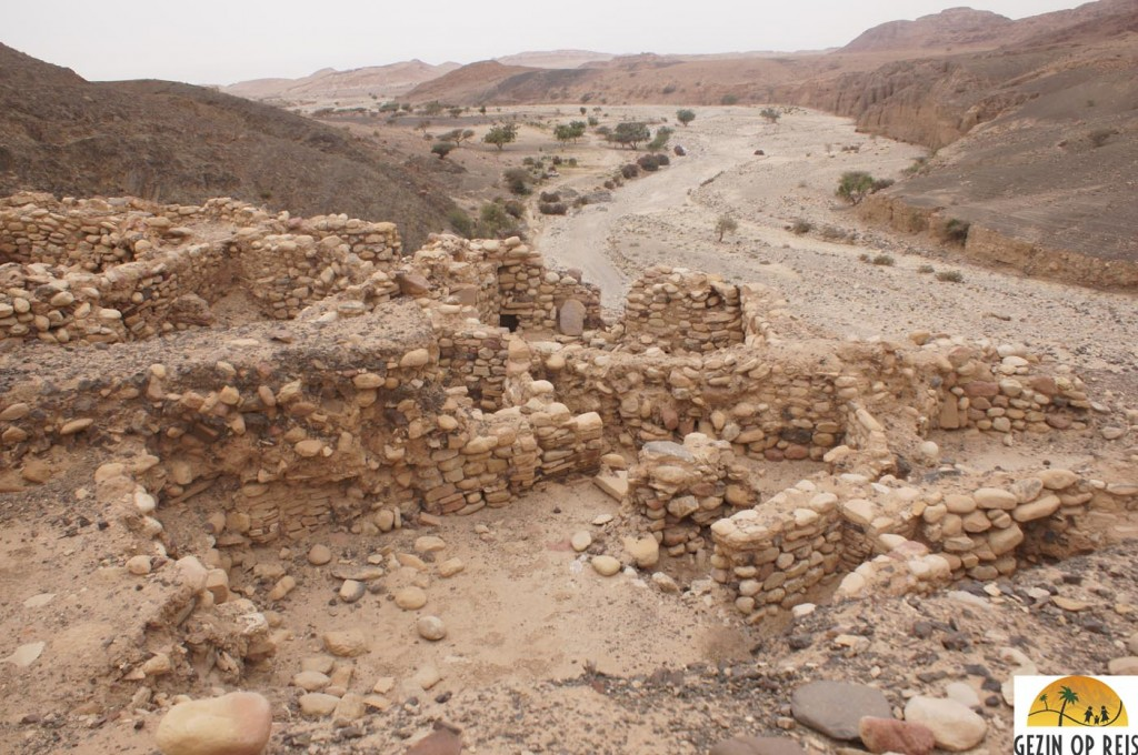 Neolitic village in Wadi Dana