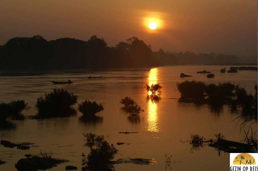 zonsopkomt laos
