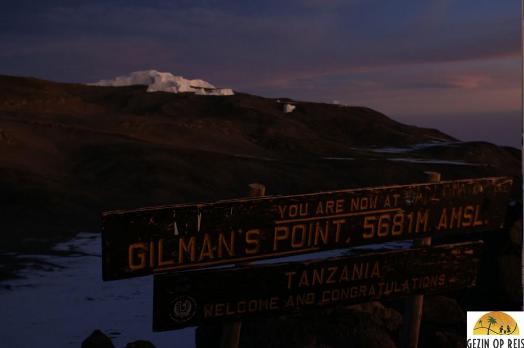zonsopkomt kilimanjaro