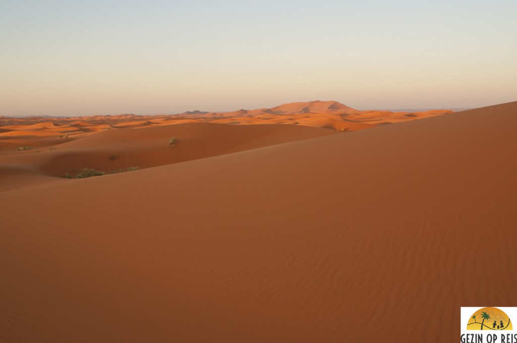 zonsopkomt woestijn