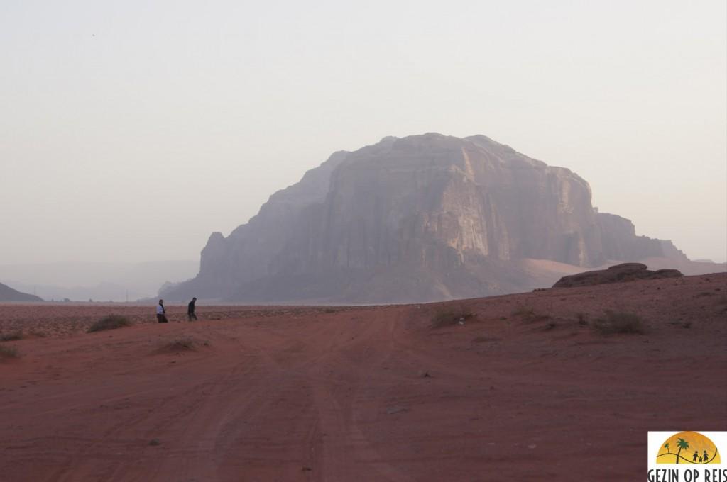 zonsopkomt wadi rum