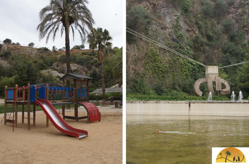 Park La Creueta de Coll barcelona