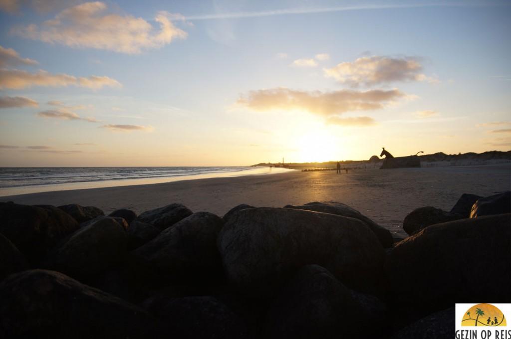 blavand zonsondergang