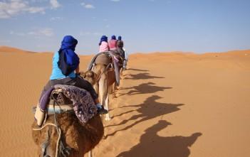 Marokko met het gezin