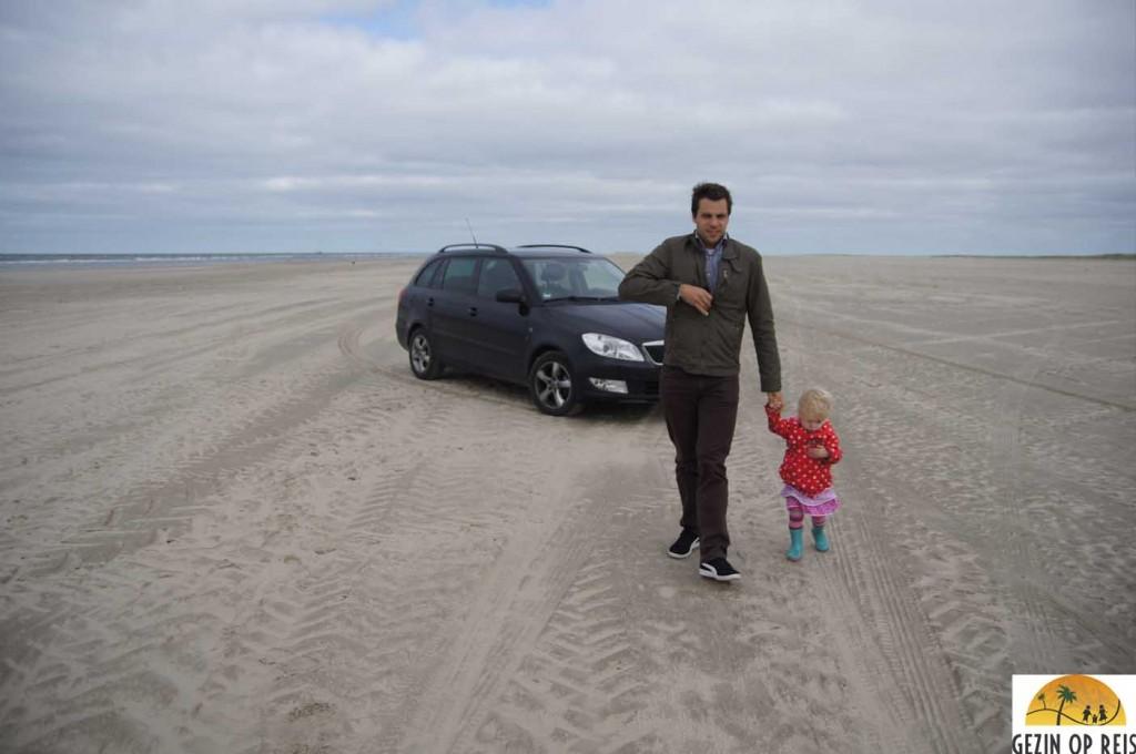 rijden op strand