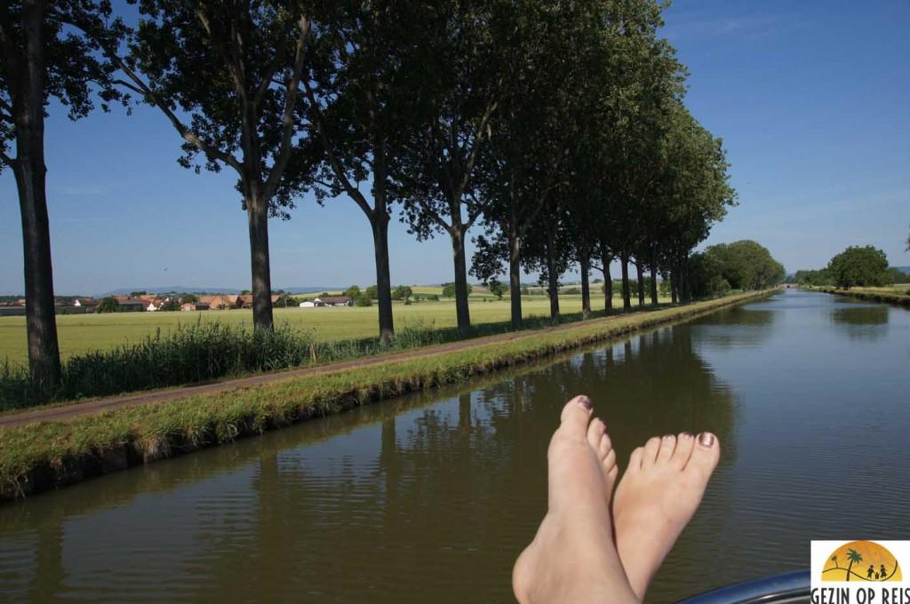 vaarvakantie in frankrijk
