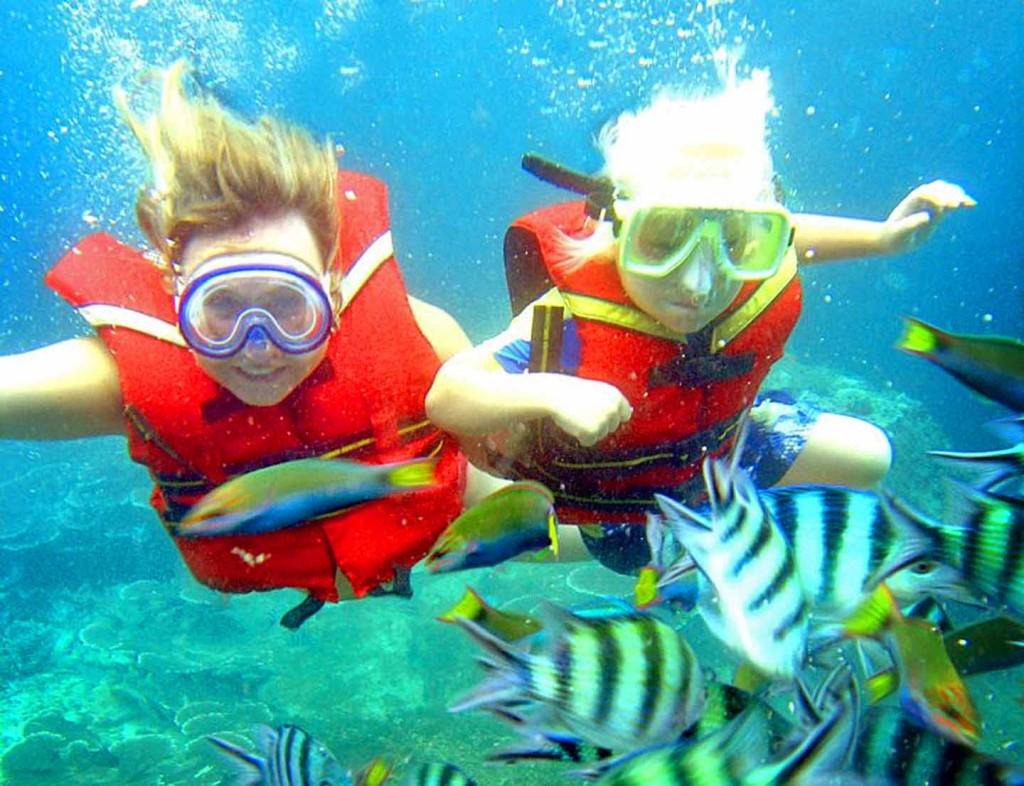 snorkelen in vietnam