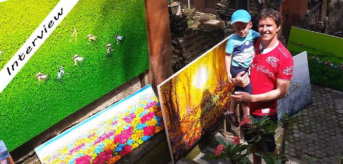 bali met kinderen