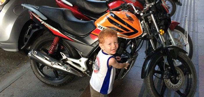 Een Easy Rider tour in Vietnam, mét kind