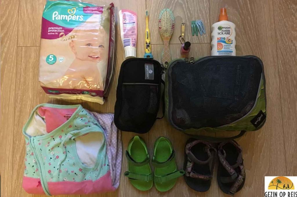 checklist vakantie peuter