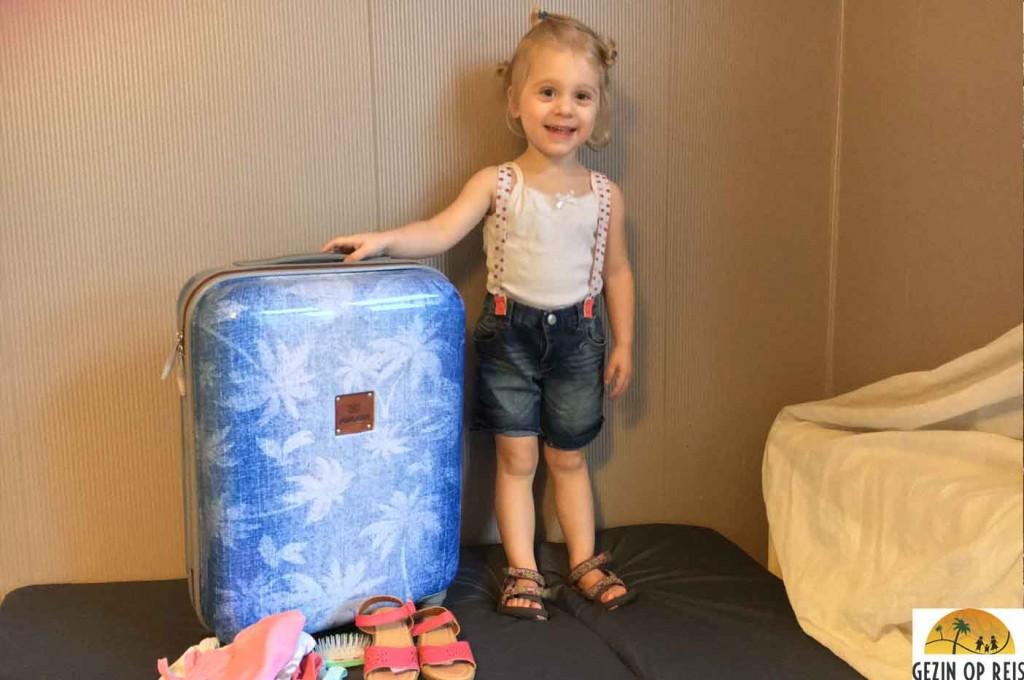 vliegen handbagage kind