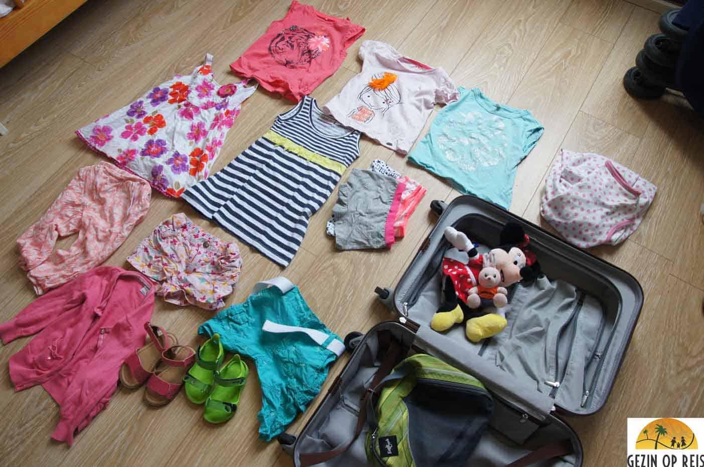 handbagage kinderen