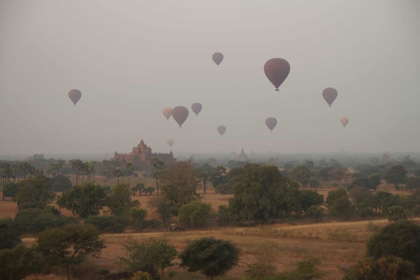 Bagan off the beaten track