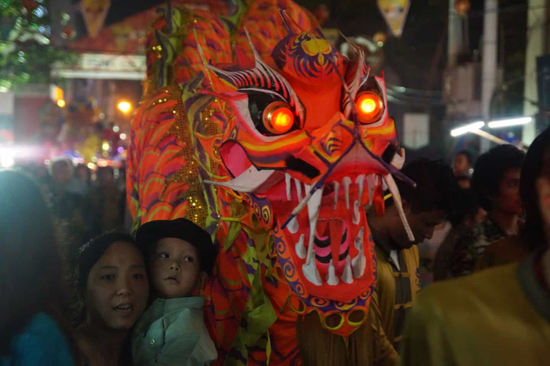 Yangon drakenfestival