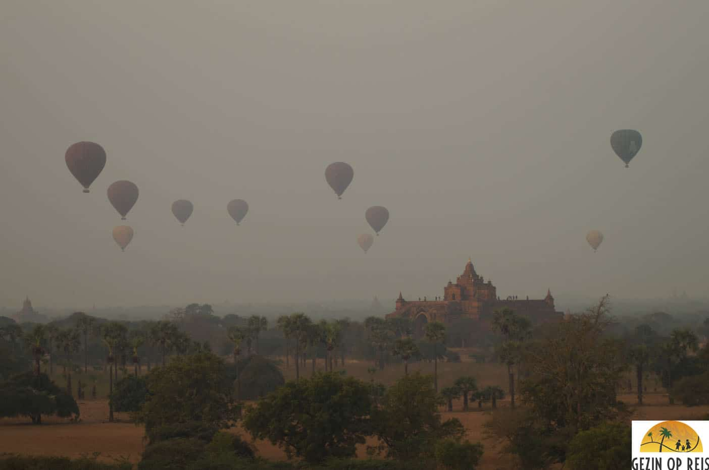 north guni bagan zonsopkomst