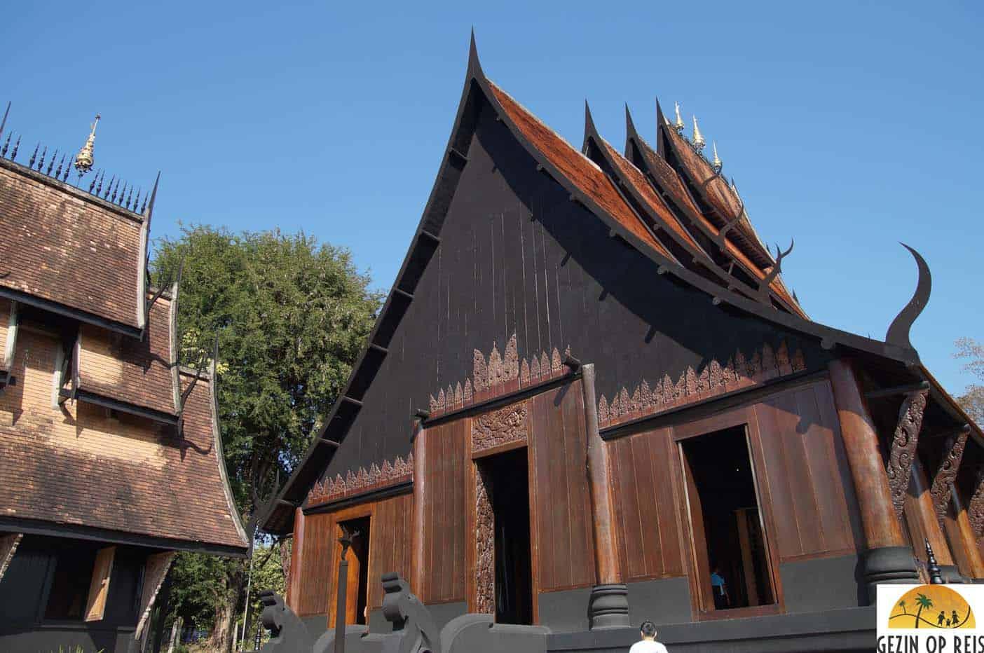 zwarte huis chiang rai Thailand