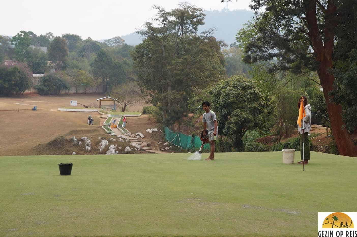 golfbaan kalaw myanmar