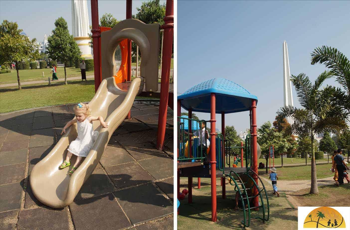 yangon mahabandoola park speeltuin