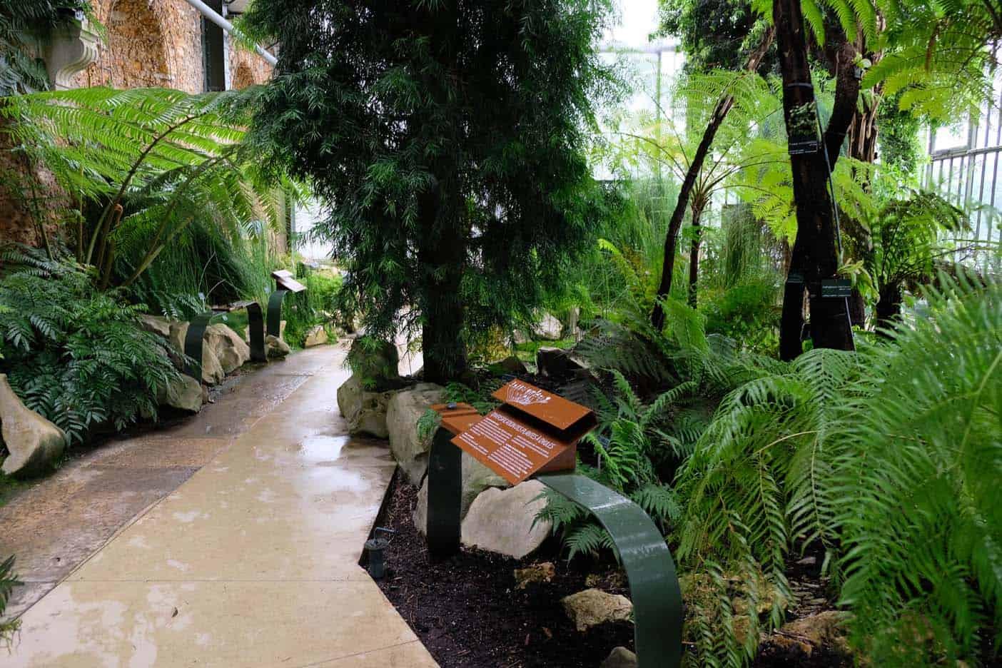 Kassen en Galerie de Botanique