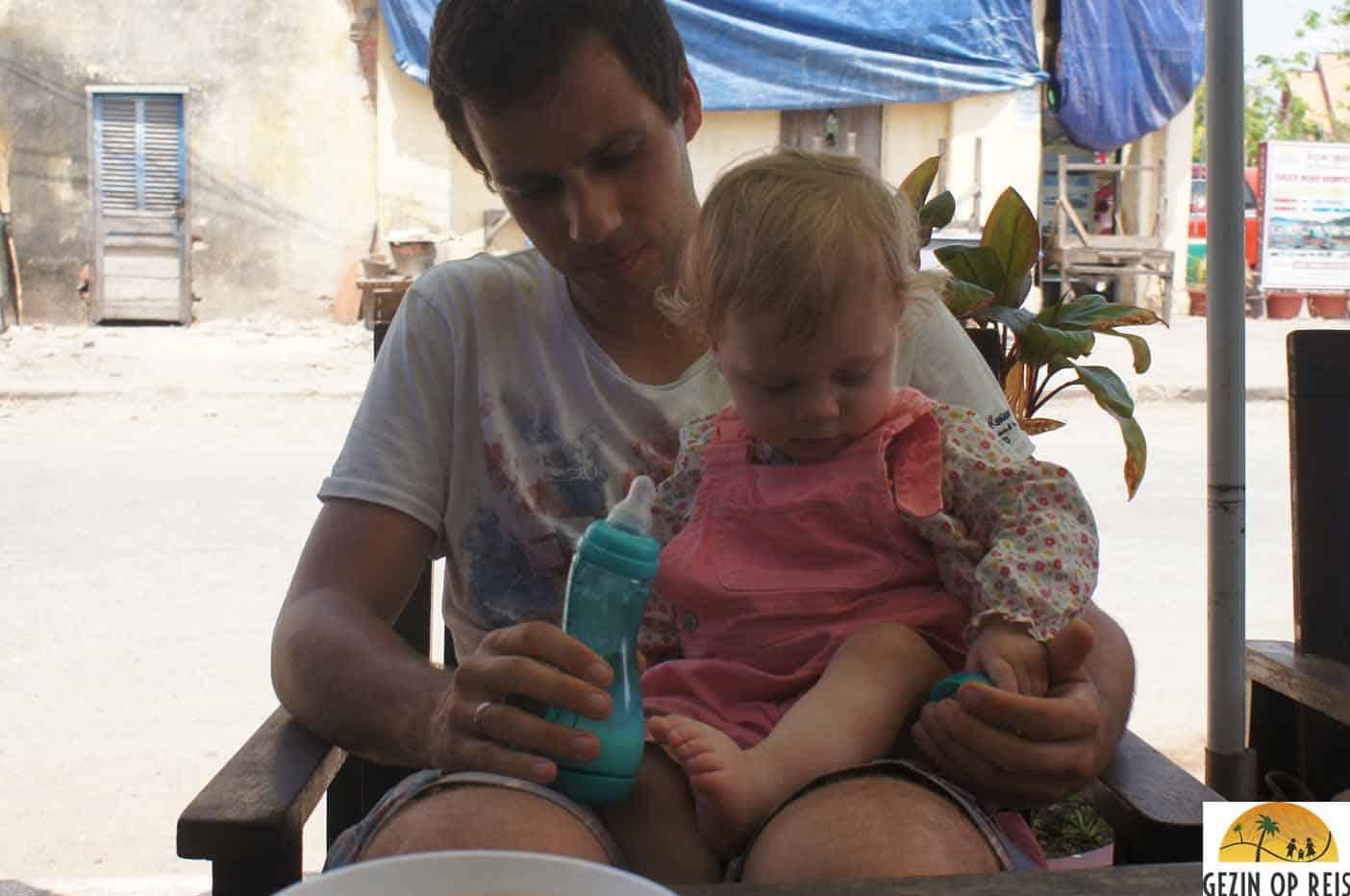 flesvoeding vakantie