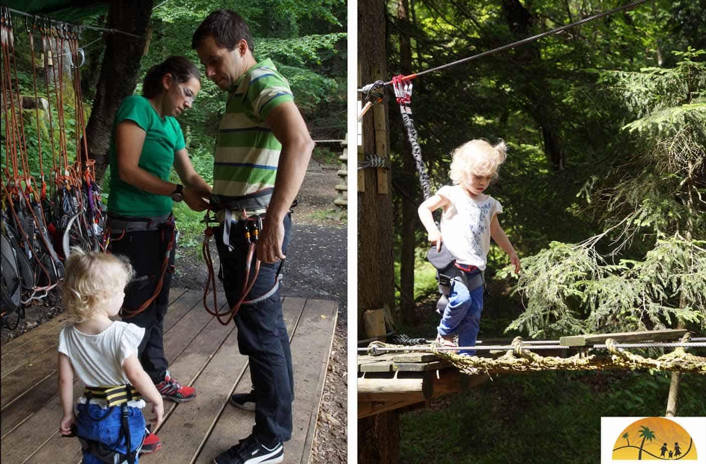 Family Adventure Park Bled met kinderen