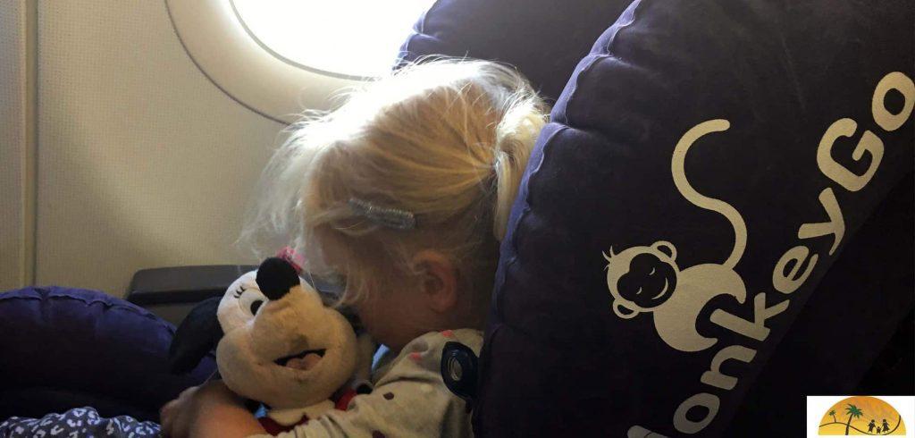 MonkeyGo vliegtuigstoeltje