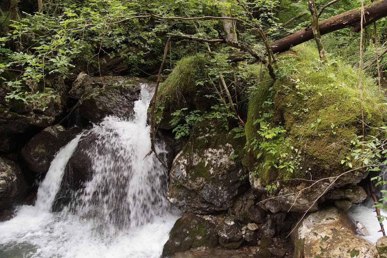 soca vallei waterval