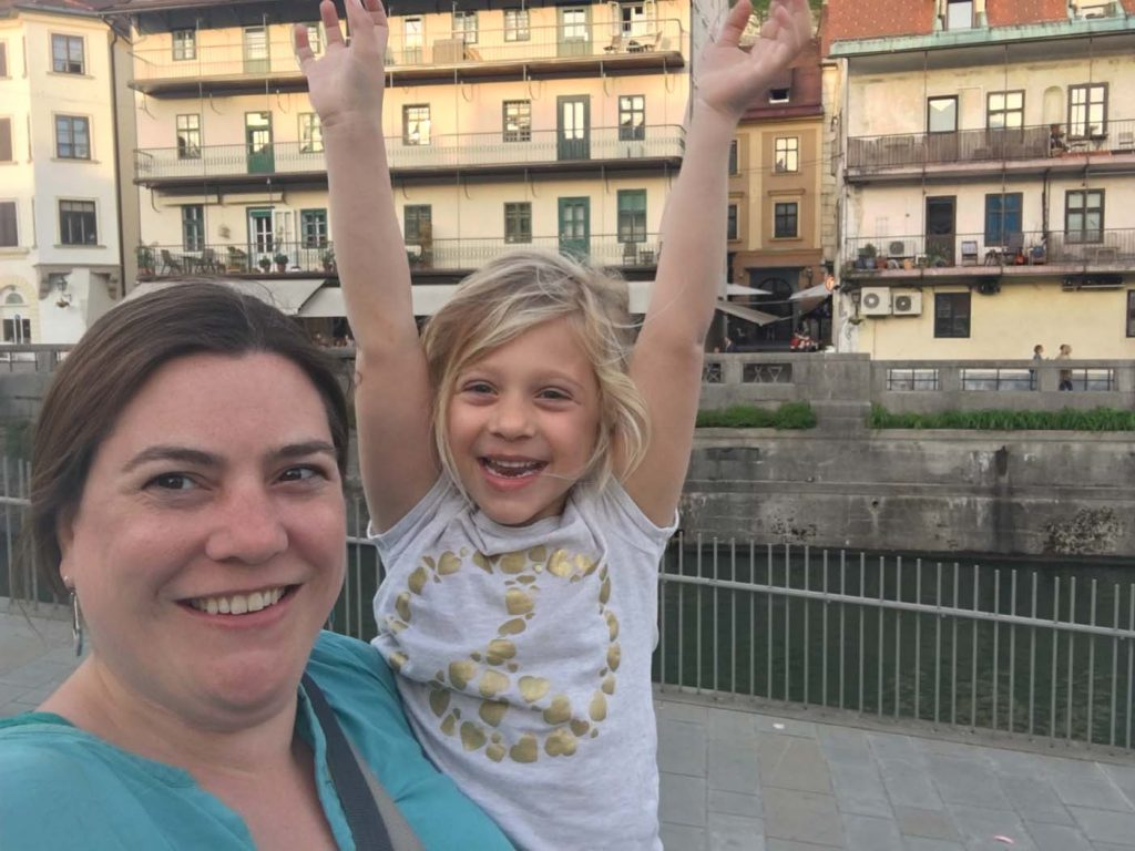 Ljubljana met kids