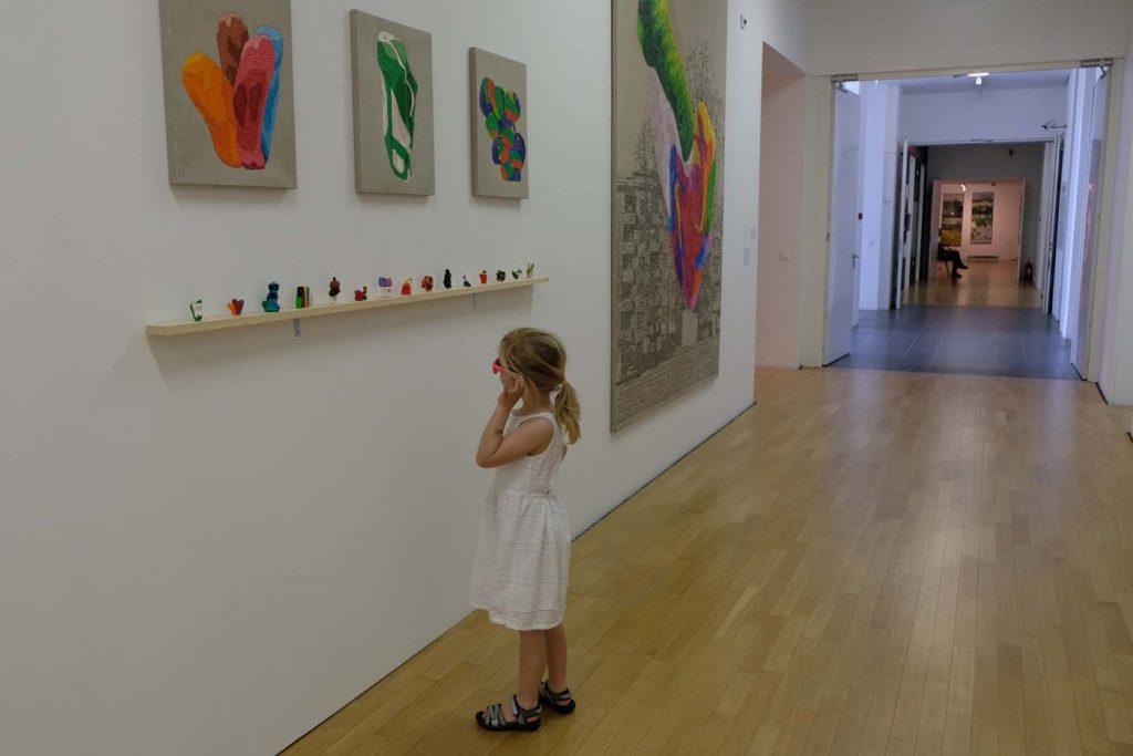 ljubljana met kinderen moderne kunst
