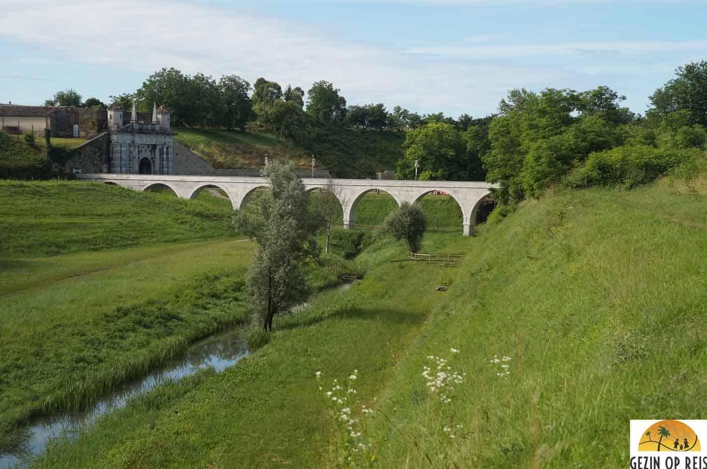 Palmanova aquaduct