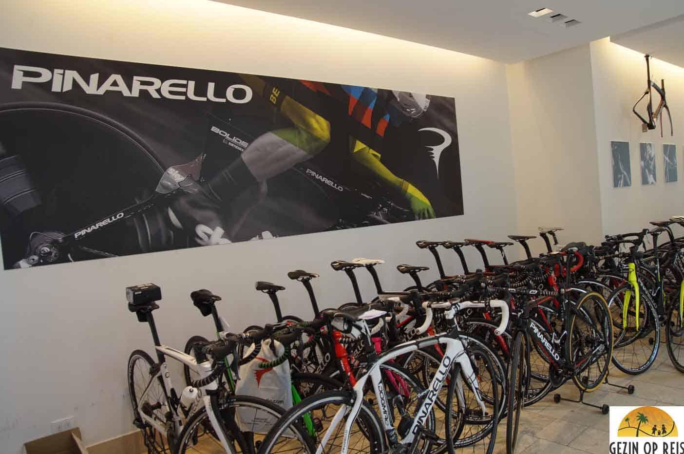 Pinarello fiets huren treviso winkel