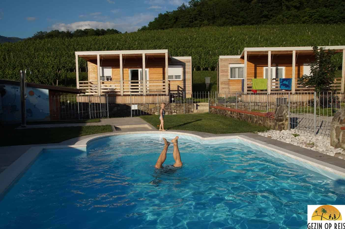 camping met zwembad slovenie Tourist farm Saksida