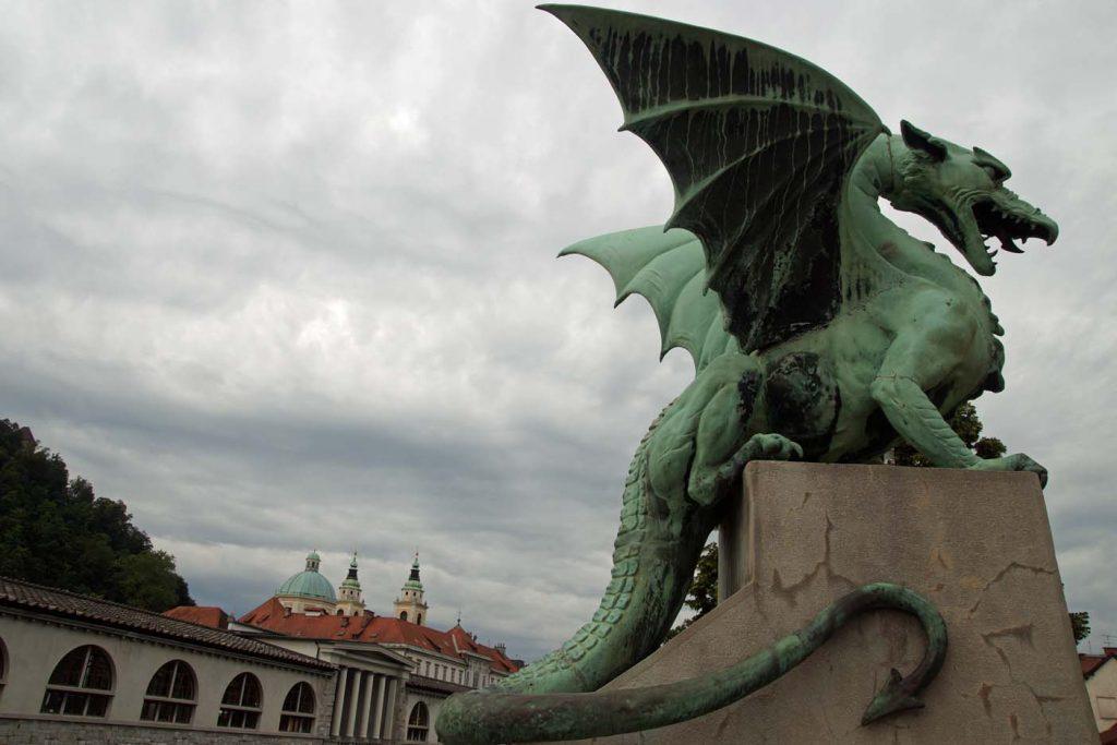 Ljubljana drakenbrug
