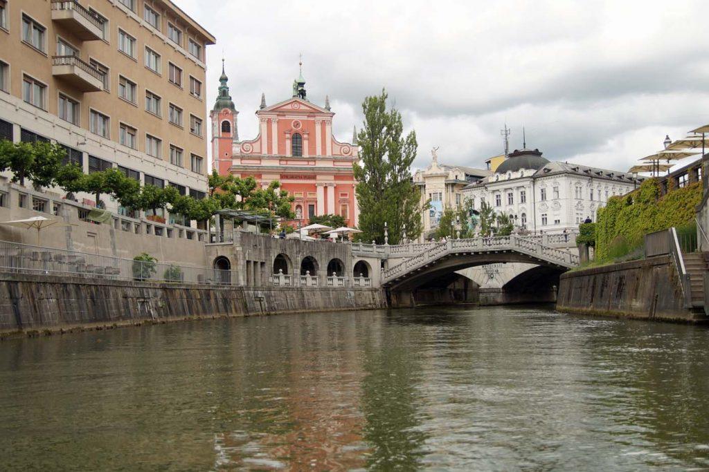 Ljubljana rondvaartboot