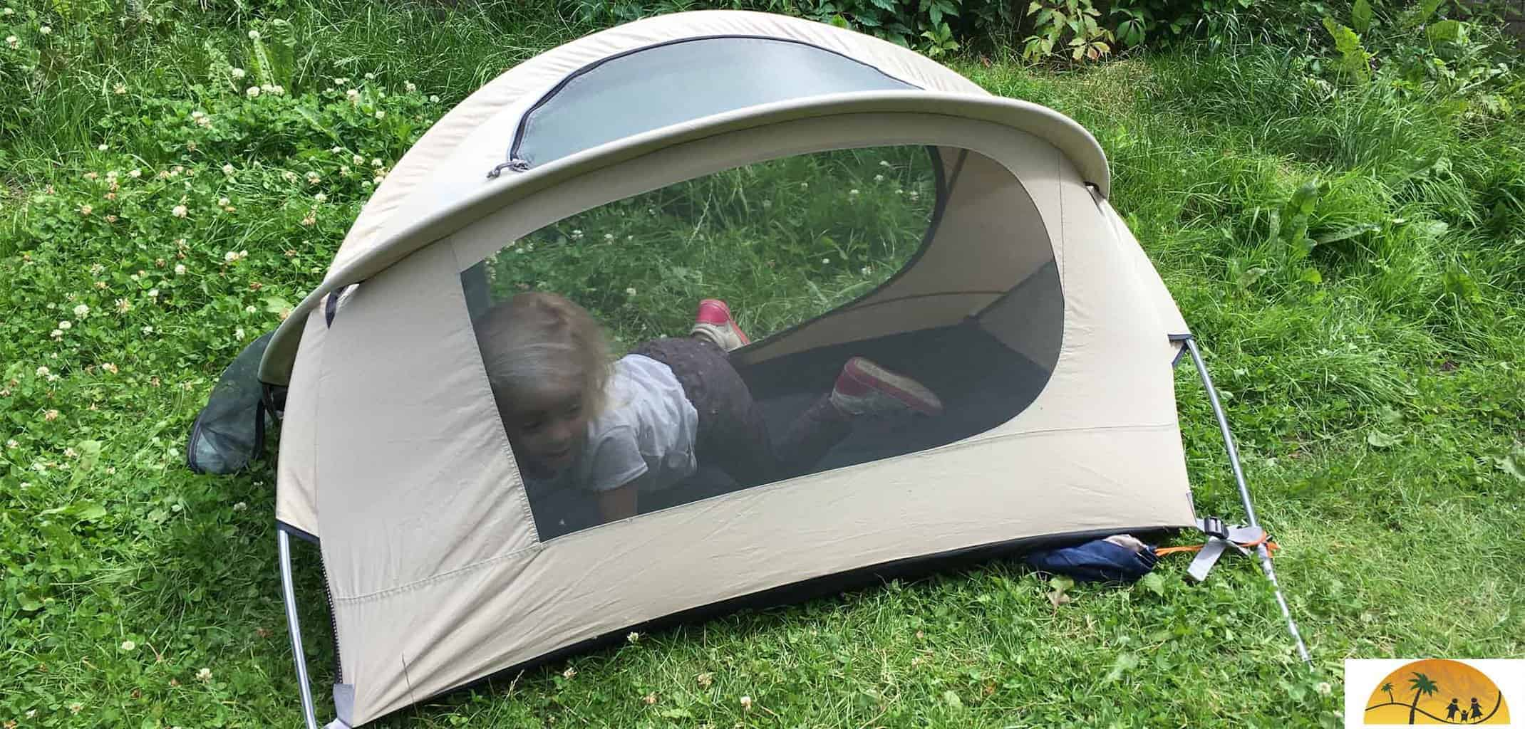 nomad kid travel tentje