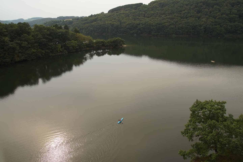 kajakken stuwmeer luxemburg